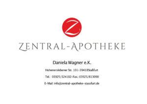 Zentral Apotheke Staßfurt, Daniela Wagner e.K., Hohenerxlebener Str. 101, 39418 Staßfurt